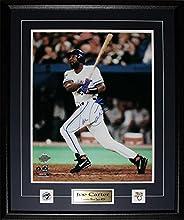 Joe Carter Toronto Blue Jays Signed 16x20 MLB Baseball Collector Frame