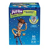 Pull-Ups Night-Time Potty Training Pants for Boys, 2T-3T (18-34 lb.), 50 Ct. (Packaging May Vary): more info