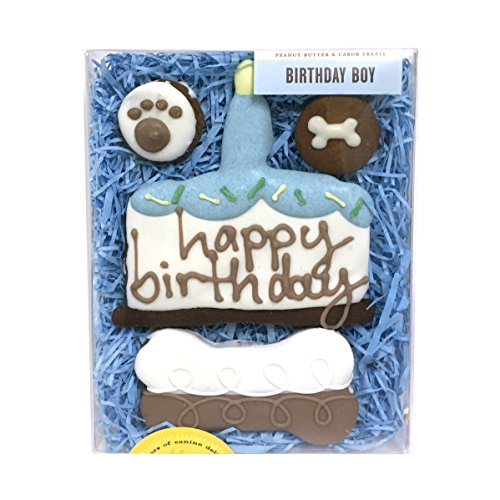 Birthday Boy Dog Biscuits by Bubba Rose Biscuit Co.