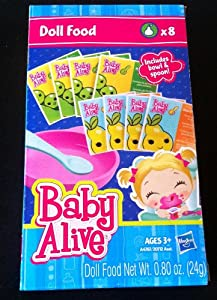 Amazon Com Baby Alive Doll Food Refill Pack Toys Amp Games