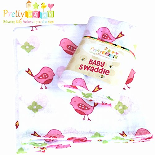 Anais Bamboo Crib Sheet (1 Soft & Breathable Baby Swaddle For Deeper Sleep. Multi Use Muslin Cotton Receiving, Swaddling Blanket, Nursing, Car Seat Cover. A Shower, Christmas Gifts. Baby Swaddle Blanket.)