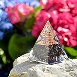 Orgone Pyramid-Black Tourmaline-Crystal-Chakra