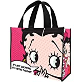 Vandor 10173 Betty Boop Large Recycled Shopper Tote, Multicolor