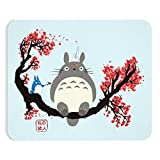 Threads Basket My Neighbor Totoro Family Studio Ghibli Inspired Premium-Textured Mousepad for Laptop & Computer