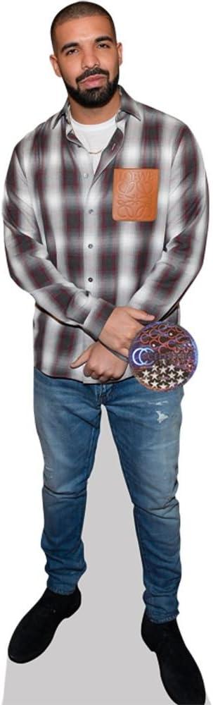 Life Size Cutout Jeans Drake