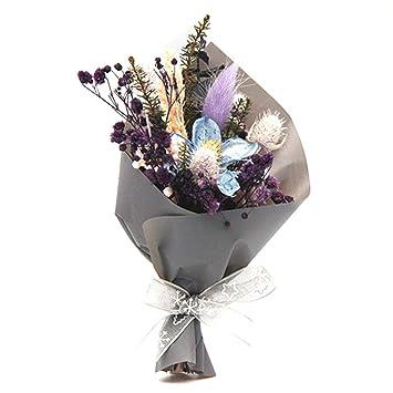 Luckybaby Ramo Pequeno De Flores Secas Decoracion Falsa Para
