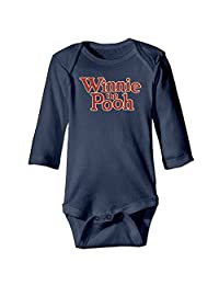 Winnie The Pooh Logo Cool For Baby Climbing Long Sleeved Clothing Navy