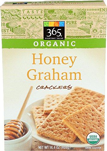 365 Everyday Value, Organic Honey Graham Crackers, 14.4 Ounce ()