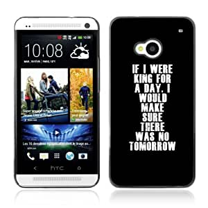 YOYOSHOP [Deep Message ] HTC One M7 Case
