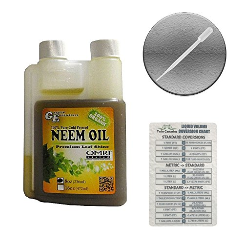 garden-essentials-neem-oil-100-pure-cold-pressed-leaf-shine-twin-canaries-chart-pipette-8-oz