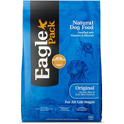(Eagle Pack Natural Dry Dog Food, Chicken & Pork, 30-Pound Bag)