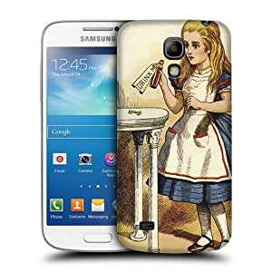 Case Fun Alice in Wonderland Drink Me Snap-on Hard Back Case Cover for Samsung Galaxy S4 Mini (i9190) by icecream design