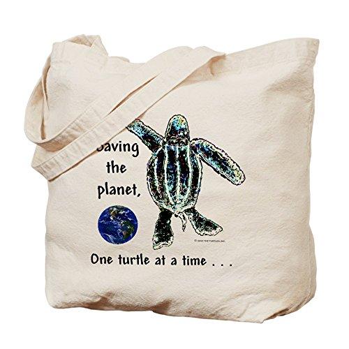 CafePress–Una tartaruga in un momento–Borsa di tela naturale, panno borsa per la spesa