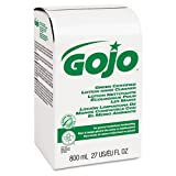 GOJO Green Certified Lotion Hand Cleaner, 800ml, Bag-in-Box Refill, Unscented - Includes 12 per case. by Gojo