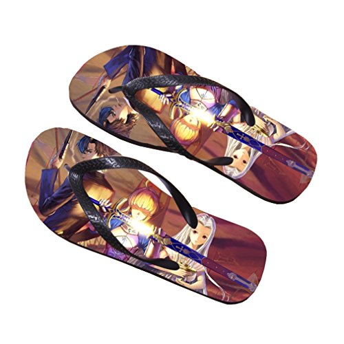 Bromeo Fate Zero Fate/stay Night Anime Unisex Flip Flops Chanclas 221