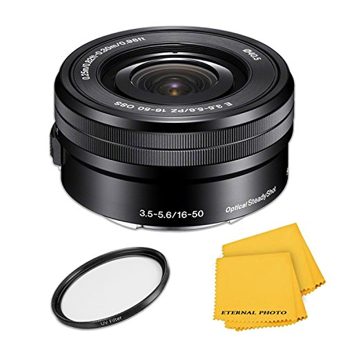 Sony E PZ 16-50mm f/3.5-5.6 OSS Lens - Black