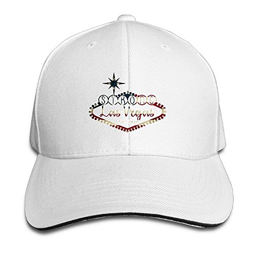 Arizona White Sport Hat (QU YDJ ICE Vegas Strong Unisex Funny Adjustable Baseball Cap Sports Hats White)