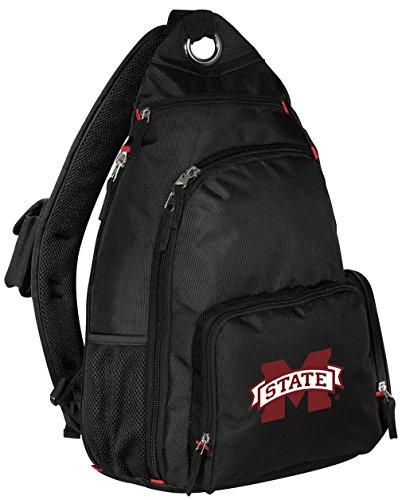 Mississippi State University Backpack Single Strap MSU Bulldogs Sling Backpack