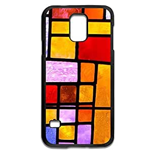 Samsung Galaxy S5 Cases Colorful Grid Design Hard Back Cover Proctector Desgined By RRG2G