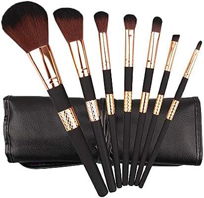 7pcs Cosmetic Makeup Brush Blusher Eye Shadow Brushes Set Kit With ...