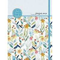 """Mein Lehrerplaner A4+ """"live – love – teach"""" – Edition Blumen – Lehrerkalender für das Schuljahr 2019/2020 – Schulplaner für Lehrerinnen und Lehrer: inklusive 8 Stickerbogen"""