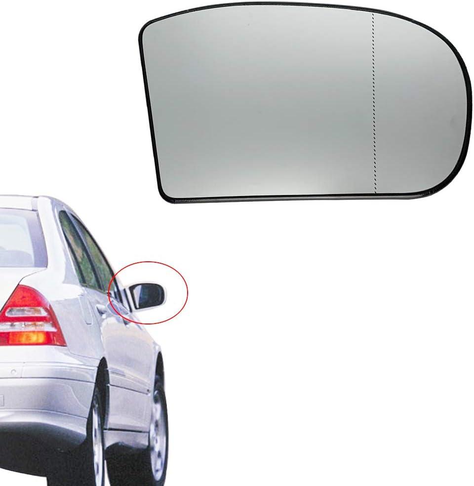 Mercedes MERCEDES-BENZ OEM Door Rear Side View-Mirror Glass Right 2038101021