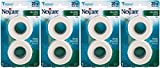 Nexcare Tape, Durable Cloth, Value Pack 2 , 1 Inch X 10 Yrds Each Roll, (Pack of 4) 80 Yards Total