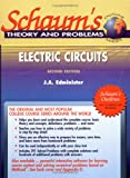 Schaum's Outline of Electric Circuits, Edminister, Joseph A., 0070212333