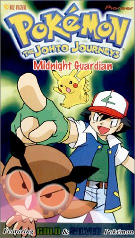 Pokemon - The Johto Journeys - Midnight Keeper (Vol. 40) [VHS] VIDEO TAPE