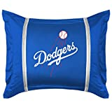Sports Coverage MLB Los Angeles Dodgers Sidelines Pillow Sham