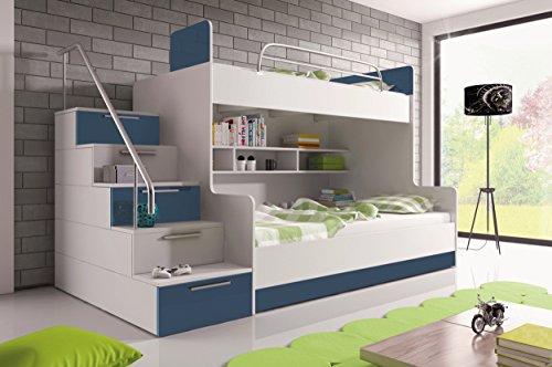 Etagenbett Schutzgitter : Furnistad etagenbett für kinder heaven stockbett mit treppe und