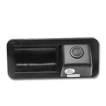 Cámaras de visión trasera Universal Vista trasera cámara CCD Chip (Negro) para Ford Mondeo Fiesta ST S-Max Focus 2C 3C Land Rover Freelander Range Rover: ...