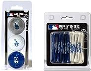 "Team Golf NHL Logo Imprinted Golf Balls (3 Count) & 2-3/4"" Regulation Golf Tees (50 Count) - Ball Col"
