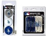 MLB Los Angeles Dodgers 3 Ball/50 Tee Pack, Blue