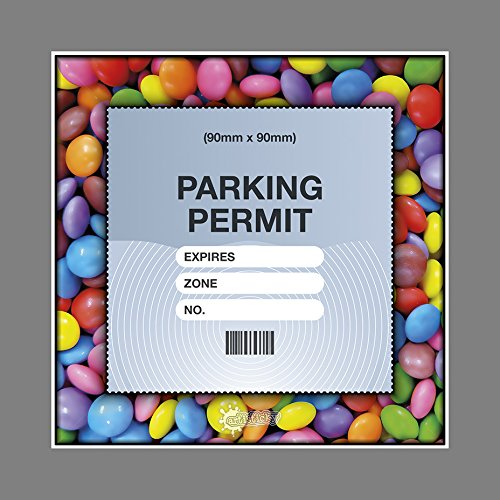 Parking Permit Holder Skin Smartie FRAME - Free Postage Artisticky Ltd