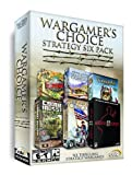Wargamer's Choice Strategy Six Pack (No Man's Land / Strategic Command / Cossacks / Combat Mission Beyond Overload / American Conquest / Sudden Strike II)