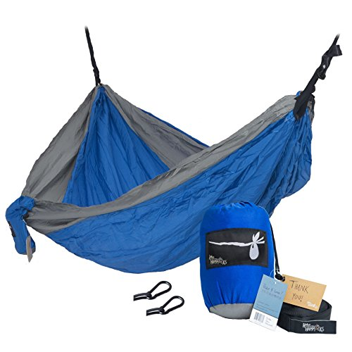 hobo-hammocks-portable-double-camping-hammock-webbing-straps-and-carabiners-included-for-hanging-blu