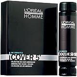 Lot de 3 Loreal HOMME Cover 5 No 7 blond moyen 50 ml