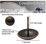 ComfortStyle Premium Upholstery Tacks, 1-inch