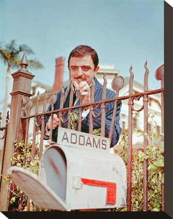 John Astin as Gomez Addams Print on Canvas