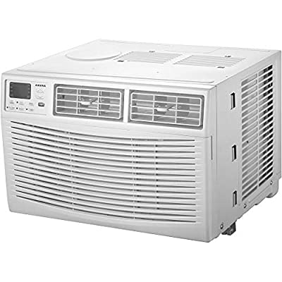 Amana 6,000 BTU 115V Window-Mounted Air Conditioner with Remote Control, White