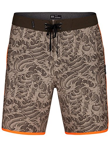 Boardshorts Khaki - Hurley Men's Phantom Kanpai 18