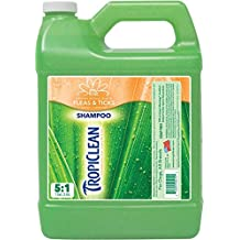 COSMOS 060159 Tropiclean Neem and Citrus Itch Relief Shampoo 5 to 1 Dilute 1 Gallon Jug