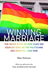 same sex marriages   all sides to the issuewinning marriage  the inside story of how same sex couples took on the politicians and pundits and won