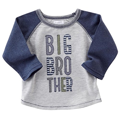 BIG BROTHER RAGLAN T-SHIRT, medium | 24M-2T/3T by Mud Pie