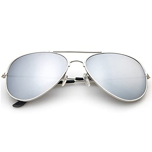 098ddd528068f Image Unavailable. Image not available for. Color  3-Pack  Designer-Inspired  Mirrored Aviators Sunglasses