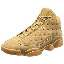 Jordan Men's AIR 13 RETRO, Elemental Gold/Baroque Brown