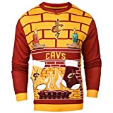 Cleveland Cavaliers Ugly 3D Sweater - Mens Medium