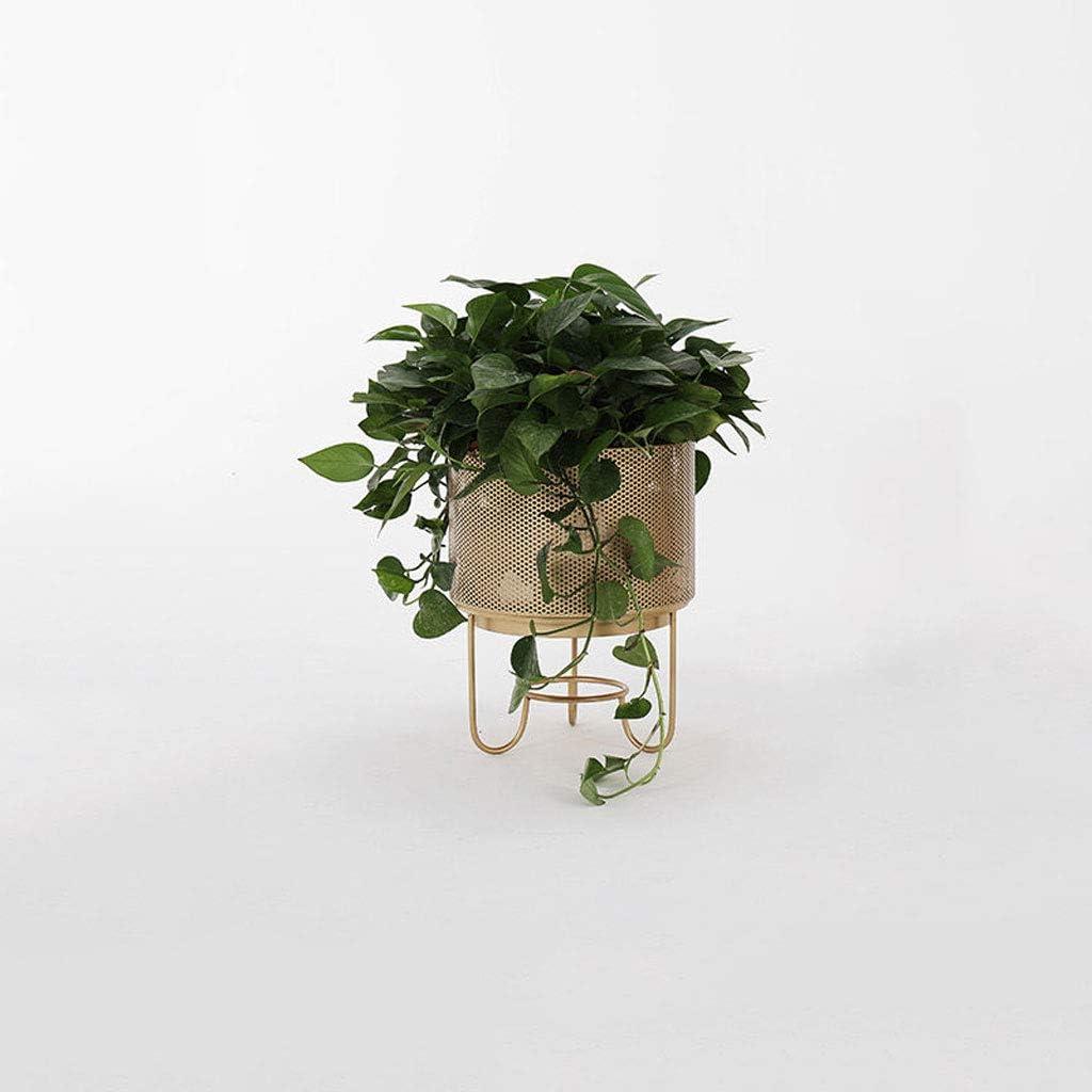 LICCC Autoportante Puesto de Flores Flor de estantes metálicos Planta de Productos terminados en Rack Tiesto Estante de múltiples Funciones Estante del Metal de la Sala de Estar Decoratio