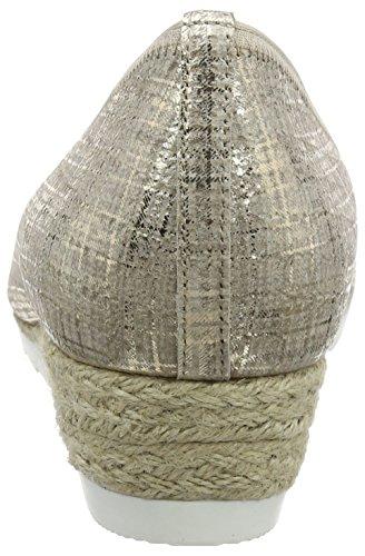 641 Donna 65 Gabor Beige Ballerine Jute silk Shoes 62 n6xxqRF